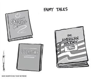 Op-ed cartoon by Mark Murphy, USA Today Network