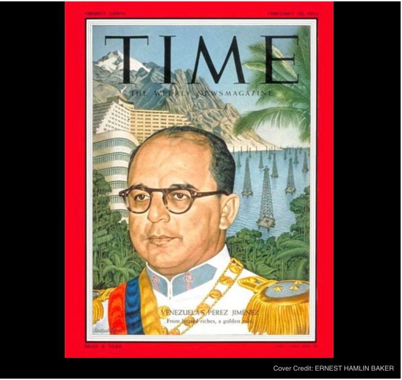 Ernest Hamlin Baker, TIME magazine cover 2/28/55