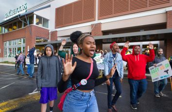 May Day for Freddie Gray Whole Foods Action