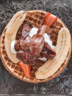 Waffles at Manna Epicure