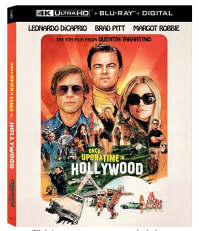 Once Upon a Time in Hollywood Blu Ray