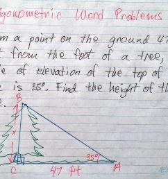 Trigonometric Word problems - Math Tutoring \u0026 Exercises [ 2142 x 2560 Pixel ]