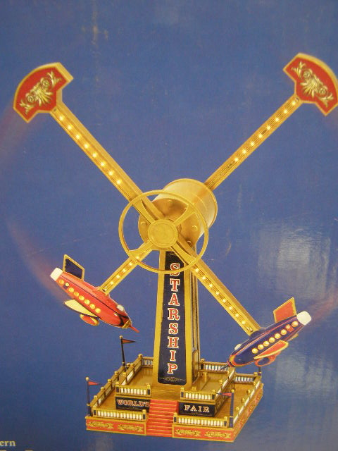 MR CHRISTMAS WORLDS FAIR STARSHIP RIDE GOLD LABEL BUY NOW