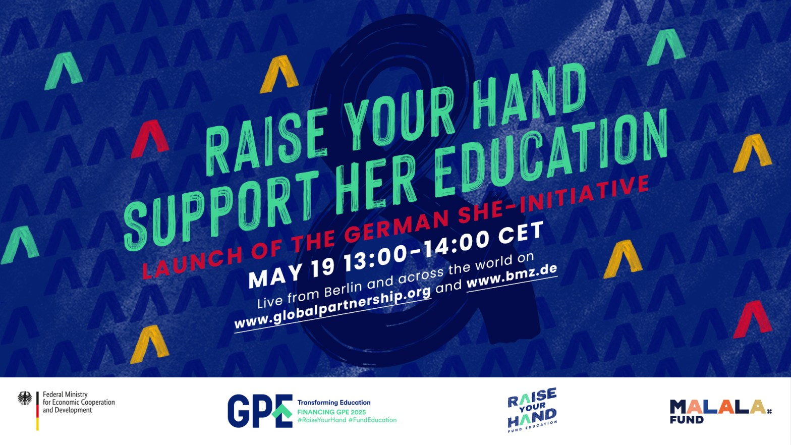 Raise Your Hand & Support Her Education