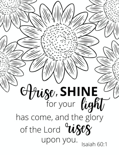 - Free Printable Bible Verse Coloring Pages - Raise Your Sword