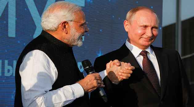 The Russian-Indian negotiations in Sochi lasted more than three hours. During the sea trip, they spoke English without needing an interpreter.