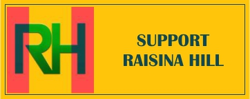 Support Raisina Hill with donations
