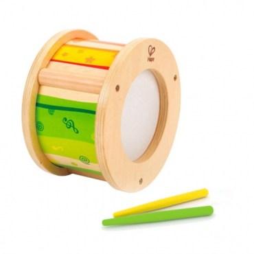 Hape houten trommel