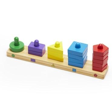 houten sorteerspel