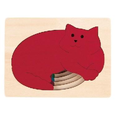 Five Cats vormenpuzzel