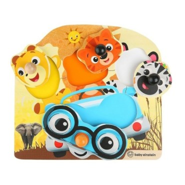 Hape vormenpuzzel Friendly Safari