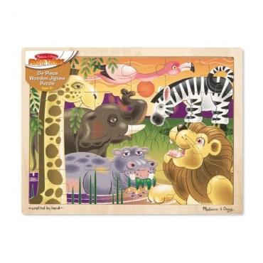 Afrikaanse savanne puzzel