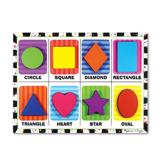 Shapes Chunky puzzel