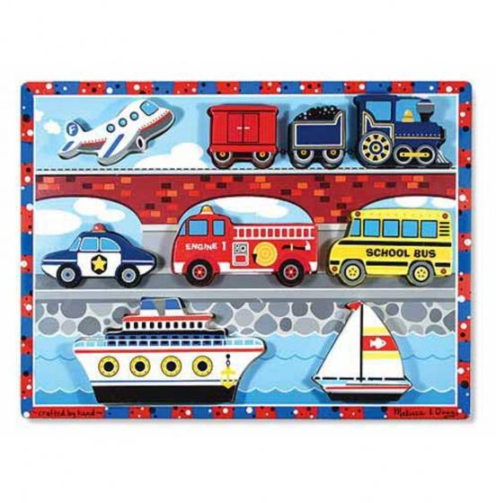 Vehicles Chunky puzzel