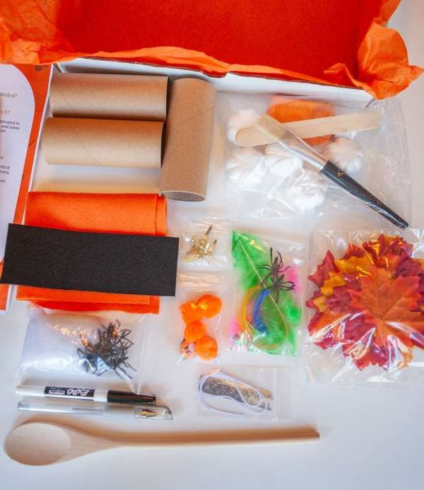 Halloween Legacy Box contents
