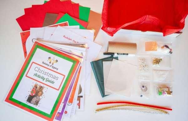 Christmas Legacy Box and guide