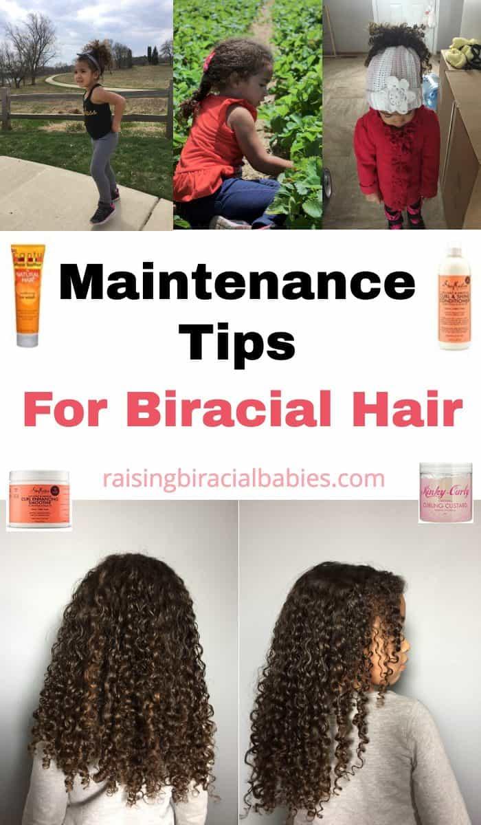 Biracial hair care tips | biracial hair | tips for mixed race hair | mixed hair tips | how to care for mixed hair | frizz free curls | biracial curly hair