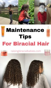 Biracial hair care tips | biracial hair | tips for mixed race hair | mixed hair tips | how to care for mixed hair | frizz free curls | biracial curly hair