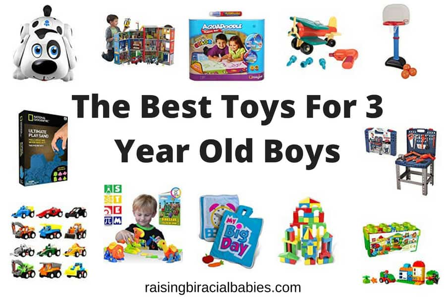 The Best Toys For 3 Year Old Boys- 2018 Edition