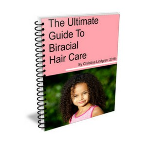 a complete guide for you to understand how to take care of curly biracial hair. | biracial curly hair | mixed race hair |