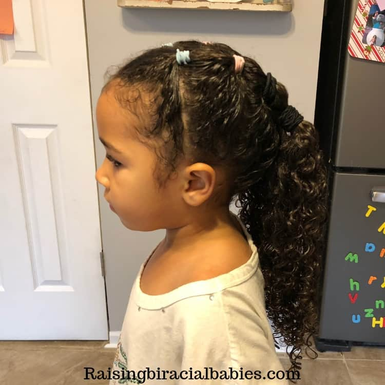 Mixed Girl Hairstyles A Cute Easy Style For Biracial Curly Hair