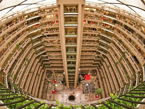 Dallas Market Center Atrium