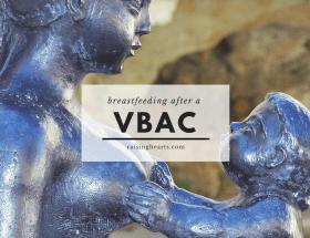 breastfeeding after vbac