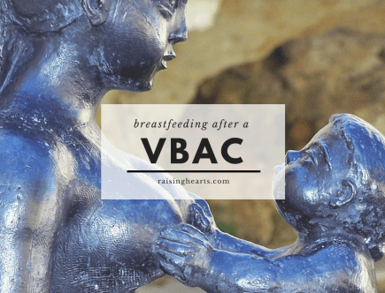 breastfeeding after vbac
