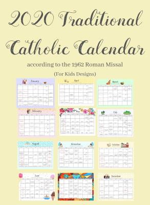2020 Calendar (Kids Designs)