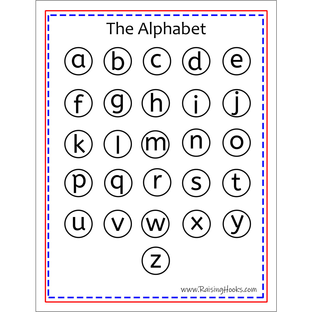 Alphabet Worksheet Turkey