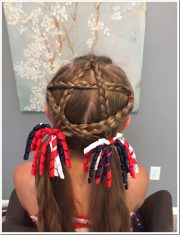 easy christmas hairstyles