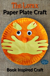 The Lorax Paper Plate Craft