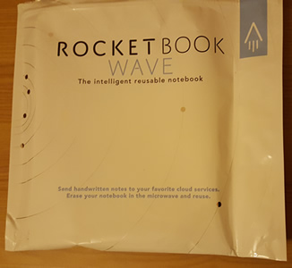 RocketBook Wave packaging