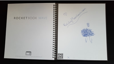 Rocketbook Wave before