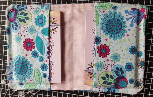 Fabric and Sewing: DIY Project for Business Cards