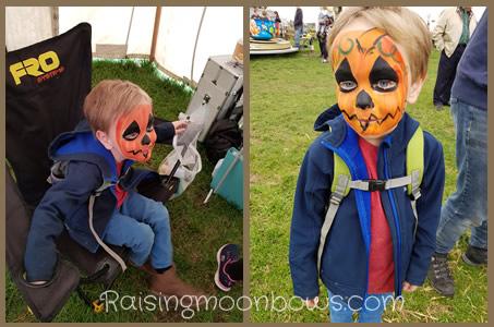 Farmer Copleys Pumpkin Festival - facepainting