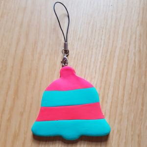 How to Make Easy Jumping Clay Tree Decorations. - Bell Finished