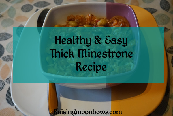 Healthy and Easy Thick Minestrone Recipe - FI