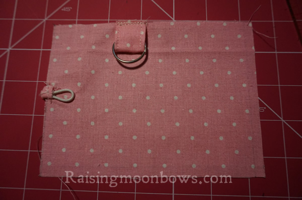 Easy Card Holder Sewing Pattern  - 7