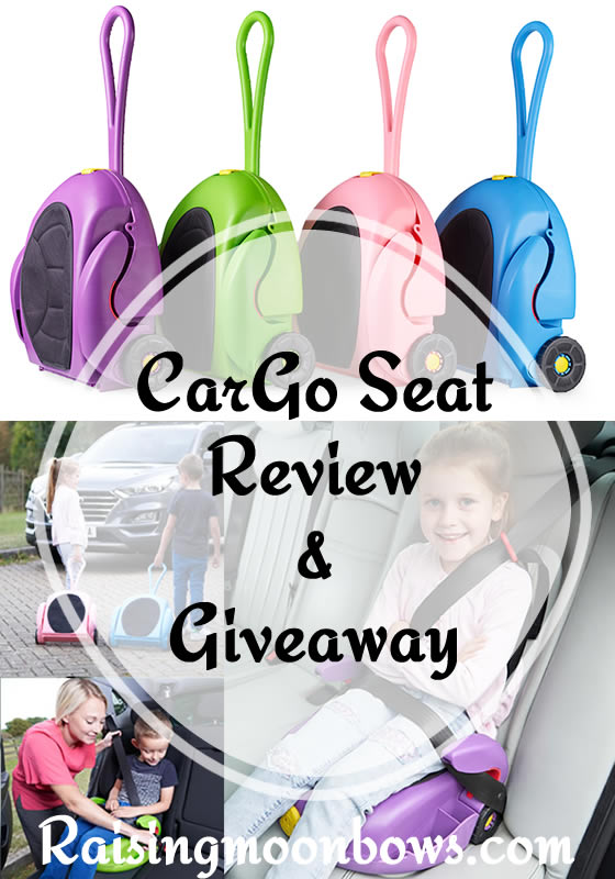 Car Go Car Seat Review and Giveaway Pin