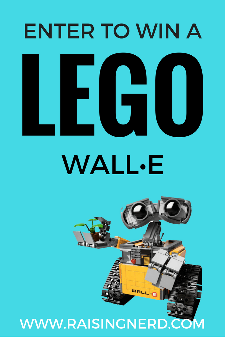 Enter to win a LEGO WALL•E set at the Raising Nerd Launch Party!
