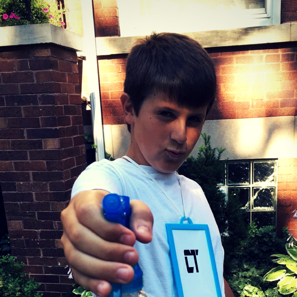 Meet the Inventor: Steven (Age 13) Inventor of the Chroma Tag
