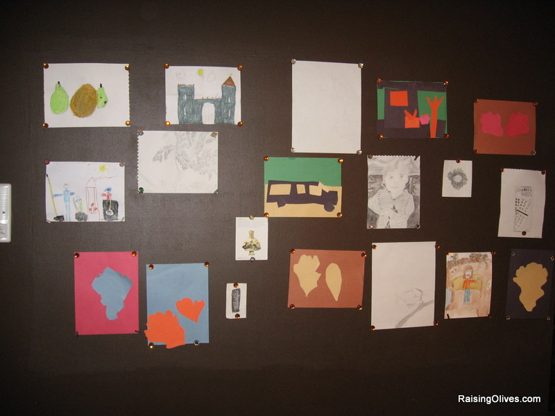 Display Childrens Art Make Your Own Magnetic Wall