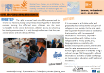 Click to see: Raising Peace Camp in Refugee Centre Emmen