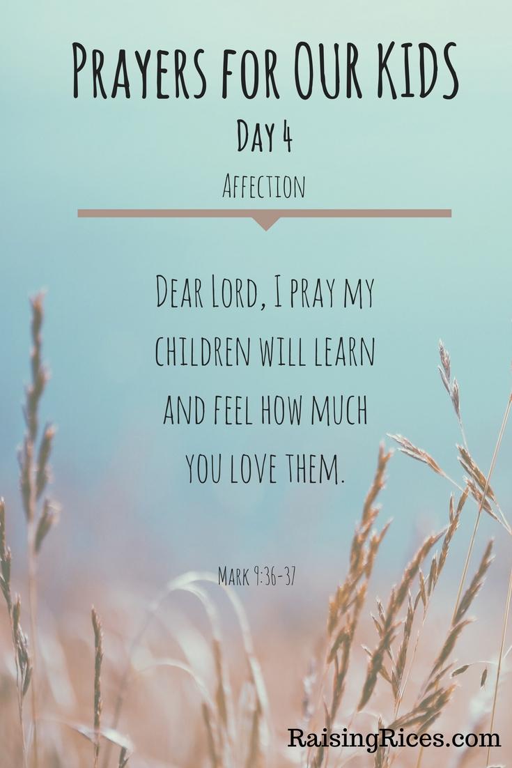 April - Prayer day 4