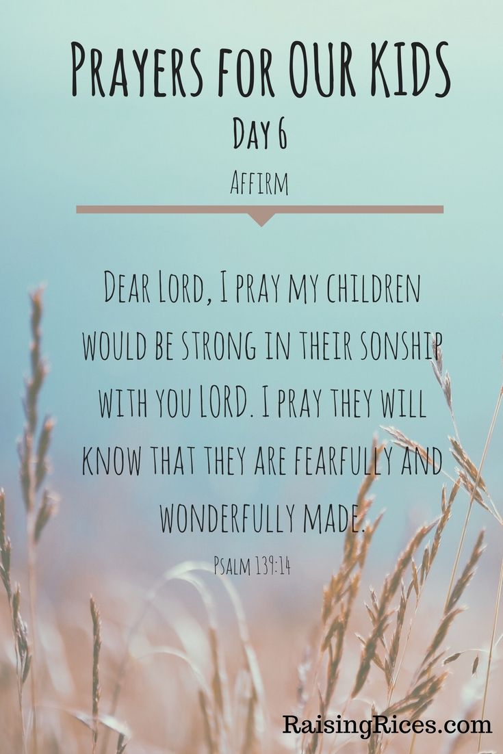 April - Prayer day 6