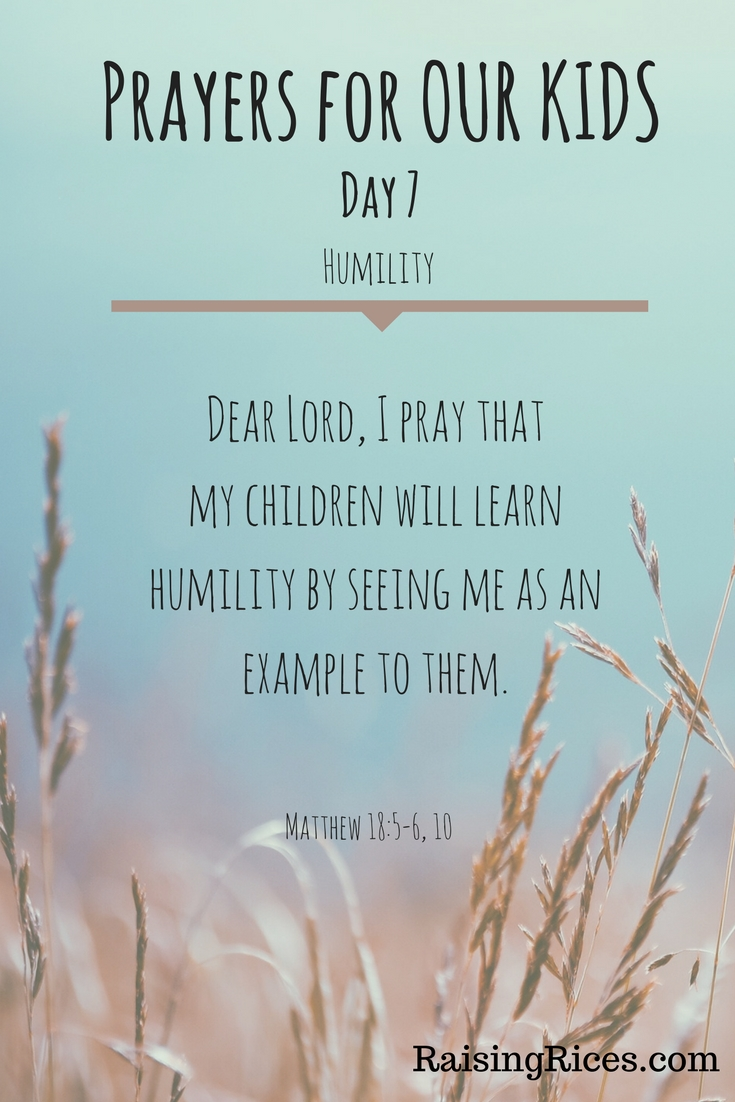 April - Prayer day 7
