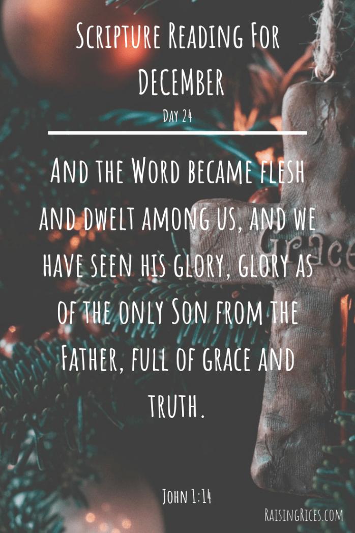 Scripture Reading For DECEMBER 23 copy