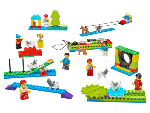 45401 ModDetail 10 - LEGO® Education BricQ Motion Essential Set (Primary) - with optional Personal Learning Kit