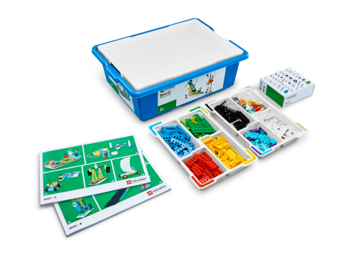 45401 Prod 02 without bricks - LEGO® Education BricQ Motion Essential Set (Primary) - with optional Personal Learning Kit